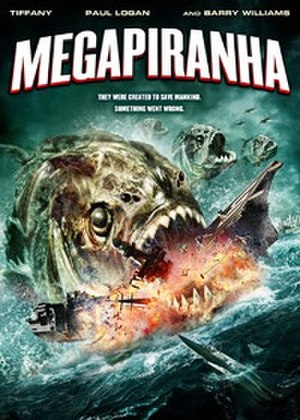 Mega Piranha - DVD cover art