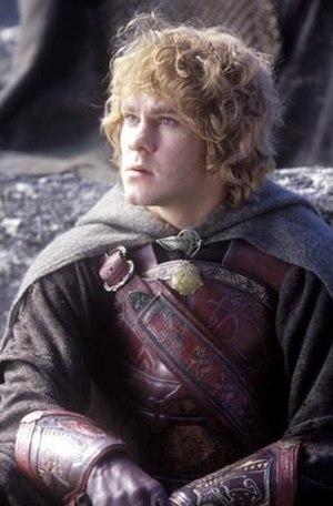 Meriadoc Brandybuck - Dominic Monaghan as Merry in Peter Jackson's The Lord of the Rings: The Return of the King.