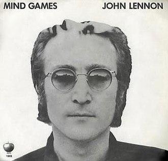 Mind Games (John Lennon song) - Image: Mind Games 45