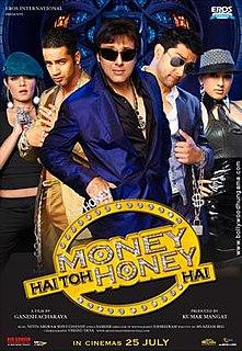 <i>Money Hai Toh Honey Hai</i> 2008 Indian film directed by Ganesh Acharya