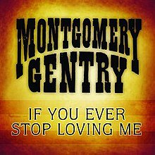Montgomery Gentry - If You Ever Stop Loving Me.jpg