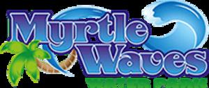 Myrtle Waves - Image: Myrtle Waves Logo