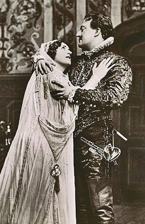 Julia Neilson - Neilson and Fred Terry in Henry of Navarre, 1909