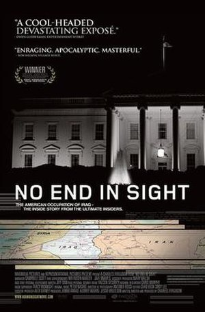 No End in Sight - Theatrical release poster