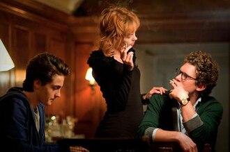 Backgammon (film) - Noah Silver, Brittany Allen and Alex Beh in a scene from Backgammon.
