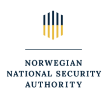 Norwegian National Security Authority Logo Center English 2018.png