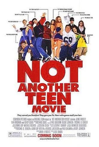 Not Another Teen Movie - Theatrical release poster