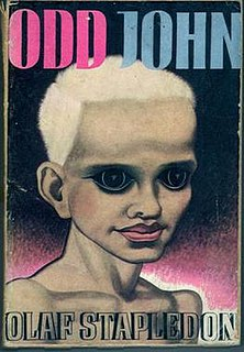 <i>Odd John</i> book by Olaf Stapledon