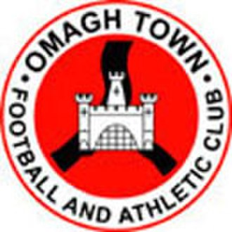 Omagh Town F.C. - Image: Omaghbadge 130