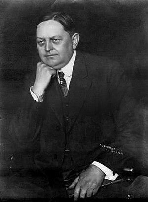 Revenue Act of 1913 - Oscar Underwood