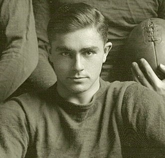 Otto Carpell - Carpell cropped from 1912 Michigan team photograph