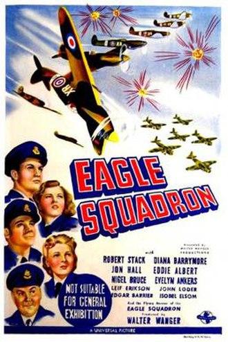 Eagle Squadron (film) - Australian film poster