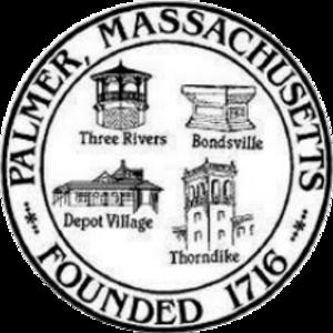 Palmer, Massachusetts - Image: Palmer MA seal