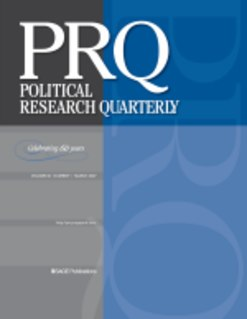 <i>Political Research Quarterly</i> Academic journal