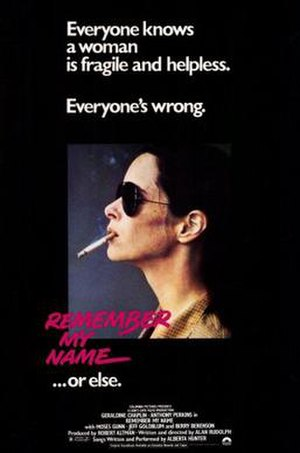 Remember My Name - Image: Poster of the movie Remember My Name