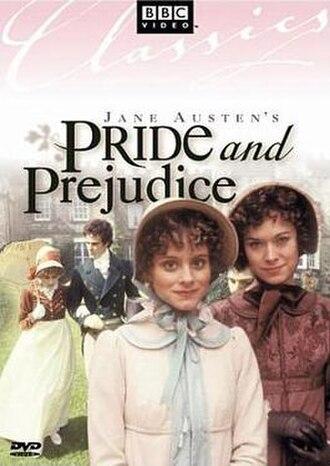 Pride and Prejudice (1980 TV series) - DVD cover