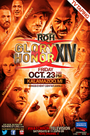 Glory By Honor XIV - Image: ROH GBH 2015