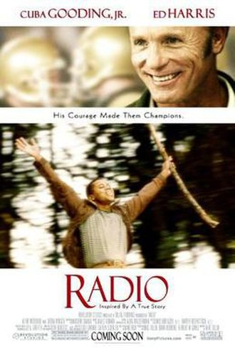 Radio (2003 film) - Theatrical release poster