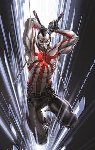 Rai (comics) - Image: Rai 1 (2014) Cover. Art by Clayton Crain