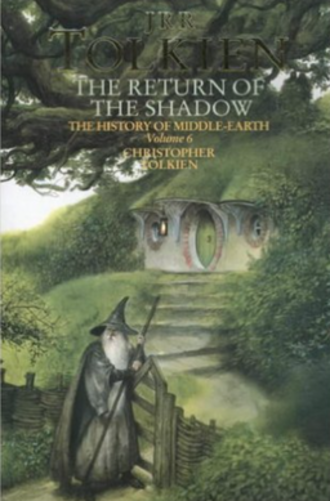 The History of The Lord of the Rings - The cover of the paperback edition of The Return of the Shadow