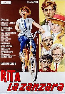 <i>Rita the Mosquito</i> 1966 film by Lina Wertmüller