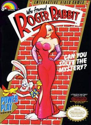 Who Framed Roger Rabbit (1989 video game) - Cover art