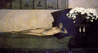 Romaine Brooks - White Azaleas (1910)