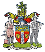 Arms of Rowley Regis Borough Council