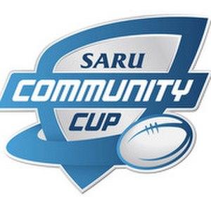 SARU Gold Cup - The SARU Community Cup logo