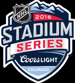 2016 NHL Stadium Series - Image: SS16 Primary Marks Colorado Branded