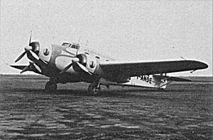 Savoia-Marchetti SM.83 - I-ANDE markings Ala Littoria's SM.83