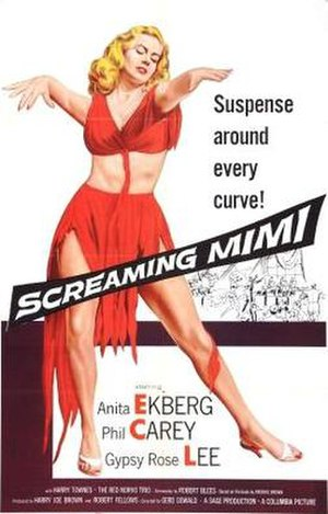Screaming Mimi (film) - Theatrical release poster