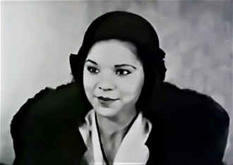 Harlem Is Heaven - Eighteen-year-old Anise Boyer portraying Jean Stratton, the leading female character in Harlem Is Heaven