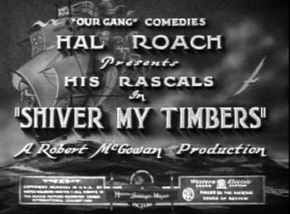 <i>Shiver My Timbers</i> 1931 film by Robert F. McGowan
