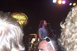 All Good Music Festival - Jacob Hemphill of Soldier of Jah Army plays 2008 late night.