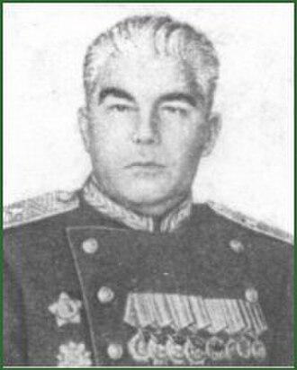 348th Rifle Division (Soviet Union) - Postwar photo of Maj. Gen. A.S. Liukhtikov