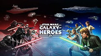 Star Wars: Galaxy of Heroes - Promotional cover