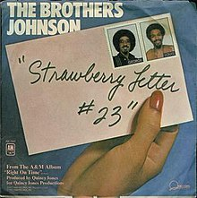 the brothers johnson strawberry letter 23 strawberry letter 23 52143