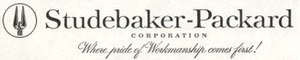 Studebaker-Packard Corporation - Image: Studepackardlogo