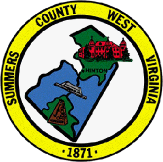 Summers County, West Virginia - Image: Summers County wv seal