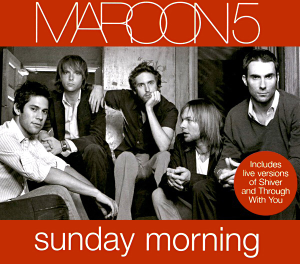 Sunday Morning (Maroon 5 song) - Image: Sunday Morning cover