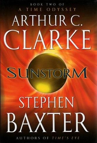 Sunstorm (novel) - Image: Sunstorm baxter
