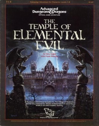 The Temple of Elemental Evil - Image: T1 4To EE Cover