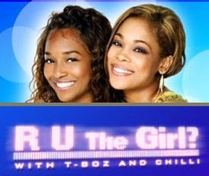R U the Girl - Title screen