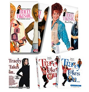 "Tracey Takes On... - ""Tracey Takes On..."" North American VHS and DVD releases from 1998–2009."