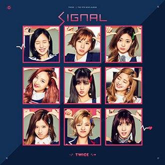 Signal (EP) - Image: TWICE(트와이스) Signal (EP)