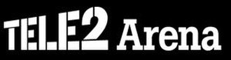 Tele2 Arena - Image: Tele 2 Arena logo