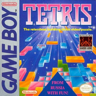 <i>Tetris</i> (Game Boy) 1989 Game Boy version of Tetris