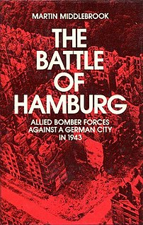 <i>The Battle of Hamburg</i> (book) book by Martin Middlebrook