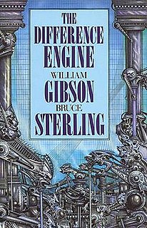 <i>The Difference Engine</i> 1990 alternative history novel by William Gibson and Bruce Sterling